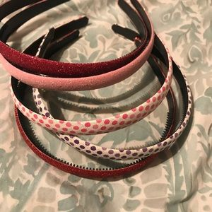 Other - 5 new girls headbands - sparkly and comfortable